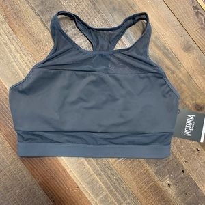 Smooth Grey Mesh Victoria Secret Sport Bra